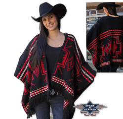 Poncho 01 Stars and Stripes