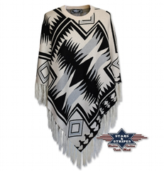 Poncho 02 Stars and Stripes