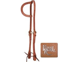 Billy Royal® Hermann Oak Leather One Ear Headstall