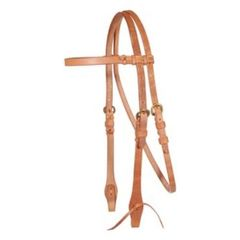 Billy Royal® Harness Leather Browband Bridle