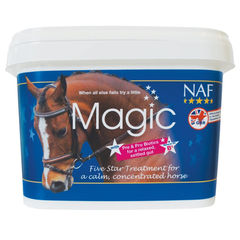 NAF Magic powder na zklidnění a koncentraci 1,5kg